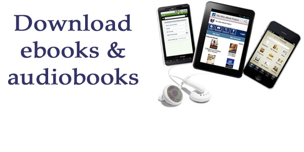Ebooks and audiobooks at the Library