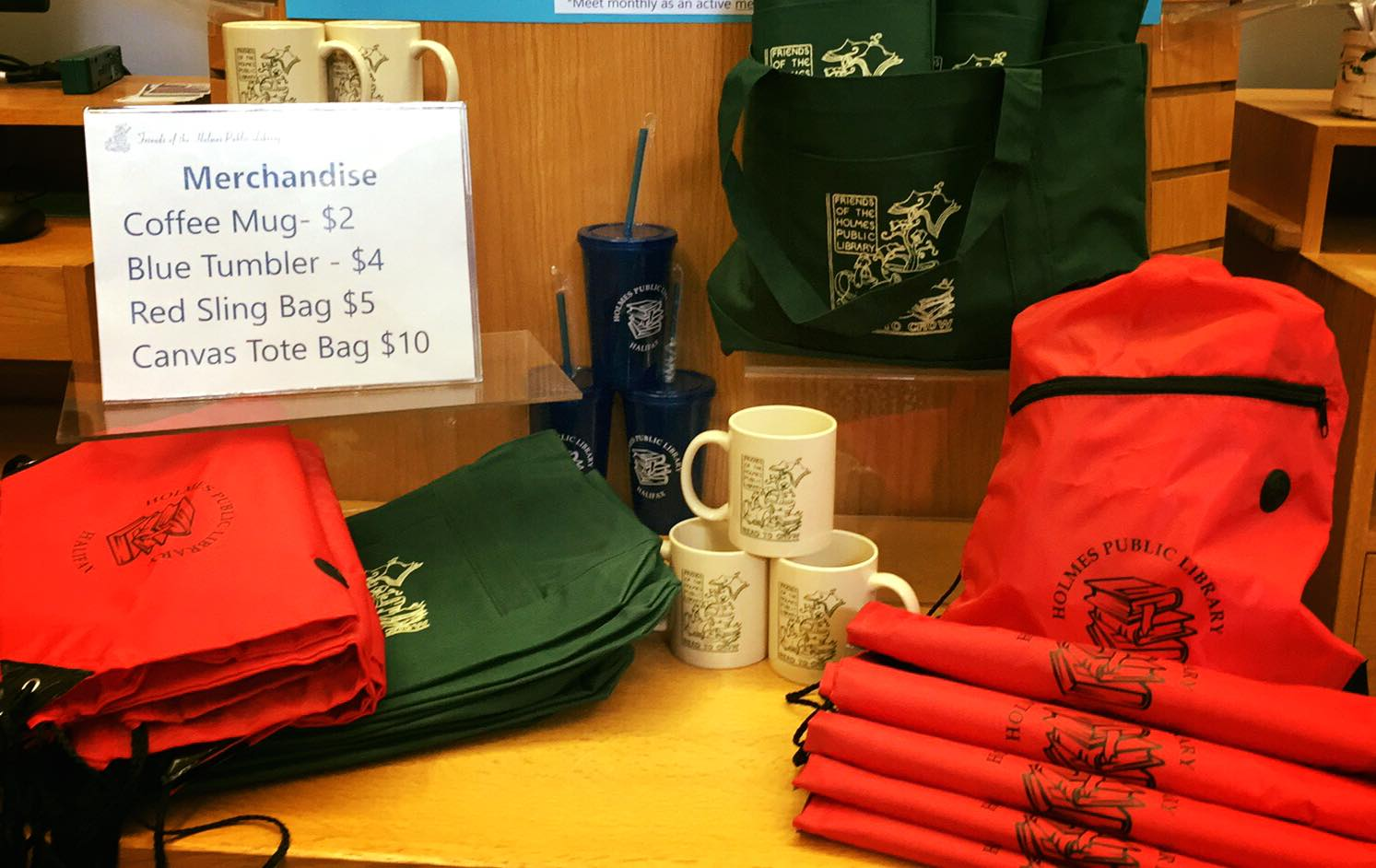 SHOP LOCAL – Friends Bags and Mugs for sale!