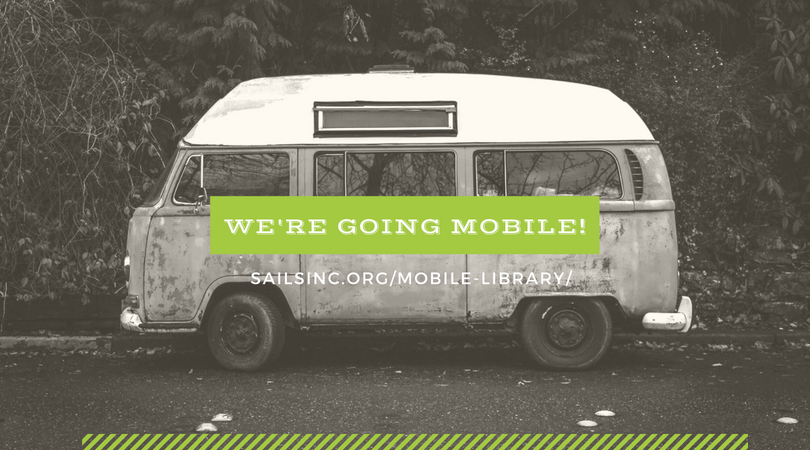 Get the Sails Library Mobile App today!